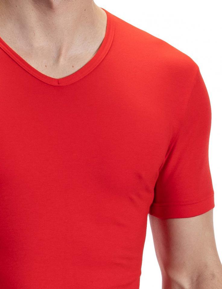 morepic-RED1601 V-Neck regular   Shirts   Underwear  Olaf Benz - Shop